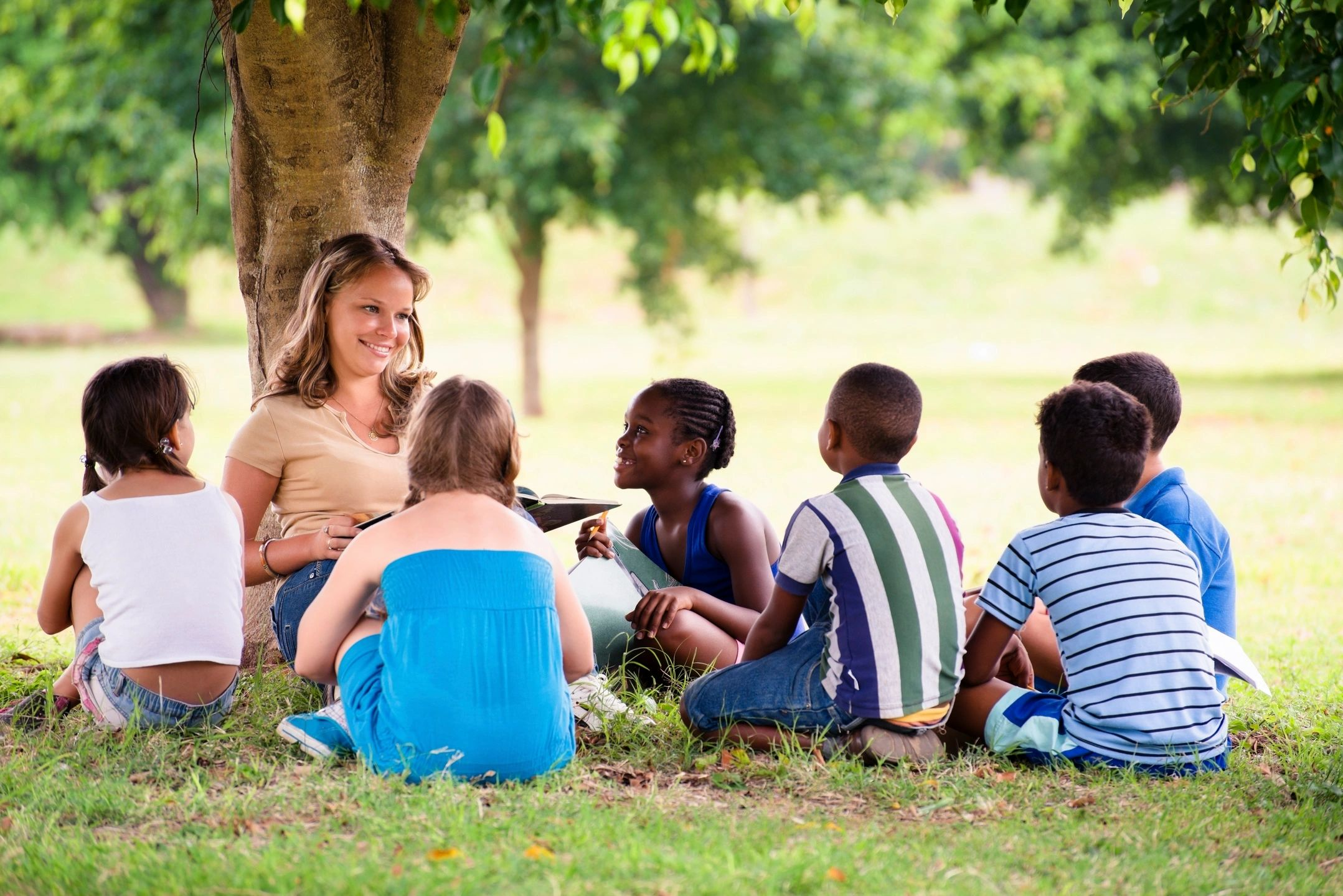 children thrive with counseling in summer