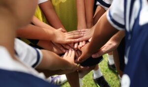 helping your child with team sports